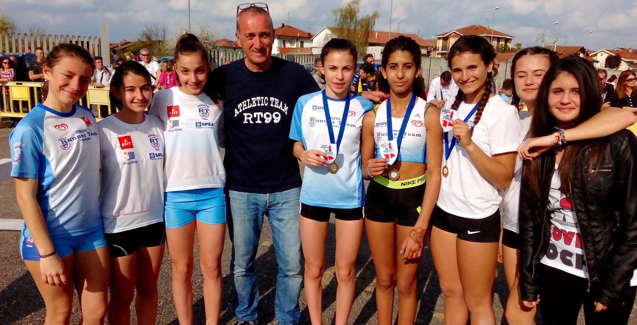 Grande successo al Campionato Piemontese Staffette Giovanili